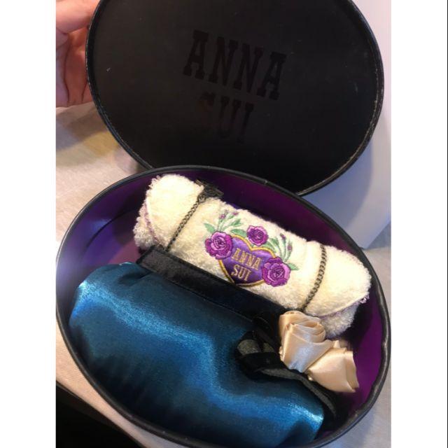 Anna Sui 毛巾 手拿包 禮盒 組