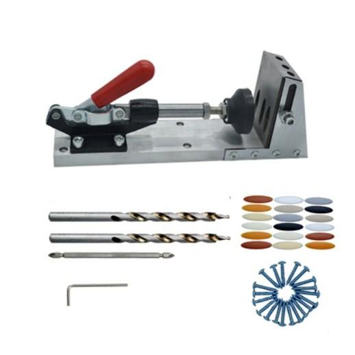 【豪划算】促銷 木工神器 斜孔定位器 口袋機 木工 斜孔器 斜孔 定位器 木板拼裝 工具