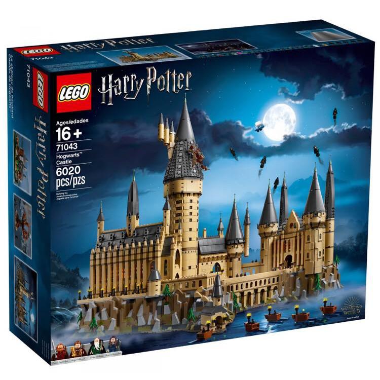 免運費【群樂】建議選郵寄 盒組 LEGO 71043 Hogwarts Castle 哈利波特 霍格華茲城堡 現貨