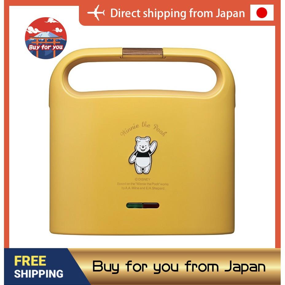 東京直送 DOSHISHA x 迪士尼 Disney 米奇 小熊維尼 三明治機 烤吐司機 熱壓吐司 三色可選