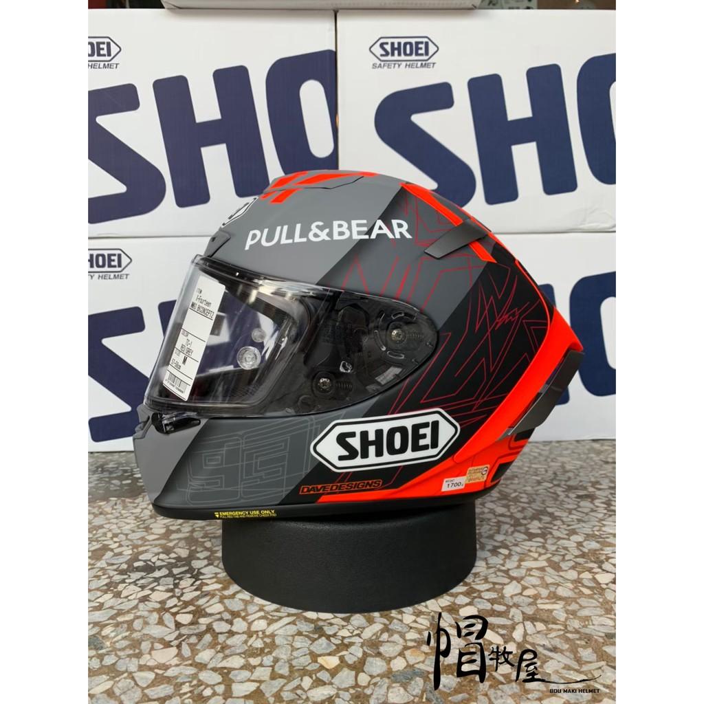 【帽牧屋】『預購』日本 SHOEI X14 MM93 BLACK CONCEPT 2.0 全罩 安全帽 消光灰/紅