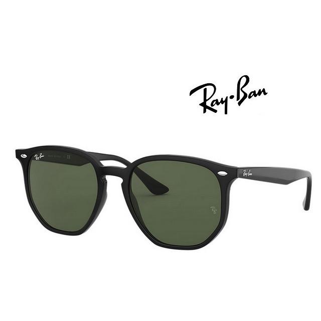 【珍愛眼鏡館】RAY BAN 雷朋太陽眼鏡 亞洲版 舒適加高鼻翼 RB4306F 601/71 黑框墨綠鏡片 公司貨