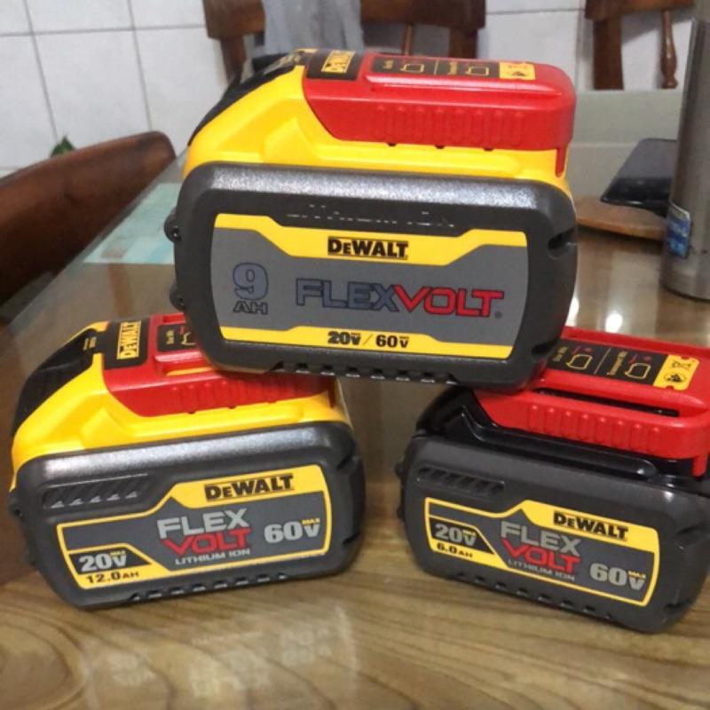 勇桑 全新DEWALT得偉雙電壓電池DCB606 DCB609 DCB612 20V/60V 6.0 9.0 12.0