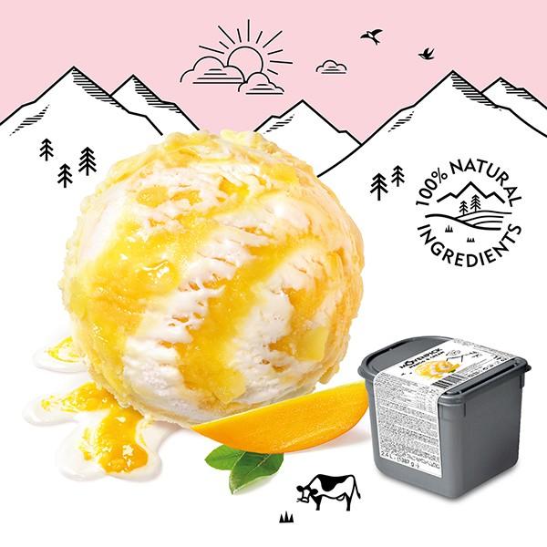 Movenpick 莫凡彼冰淇淋 芒果牛奶2.4L家庭號