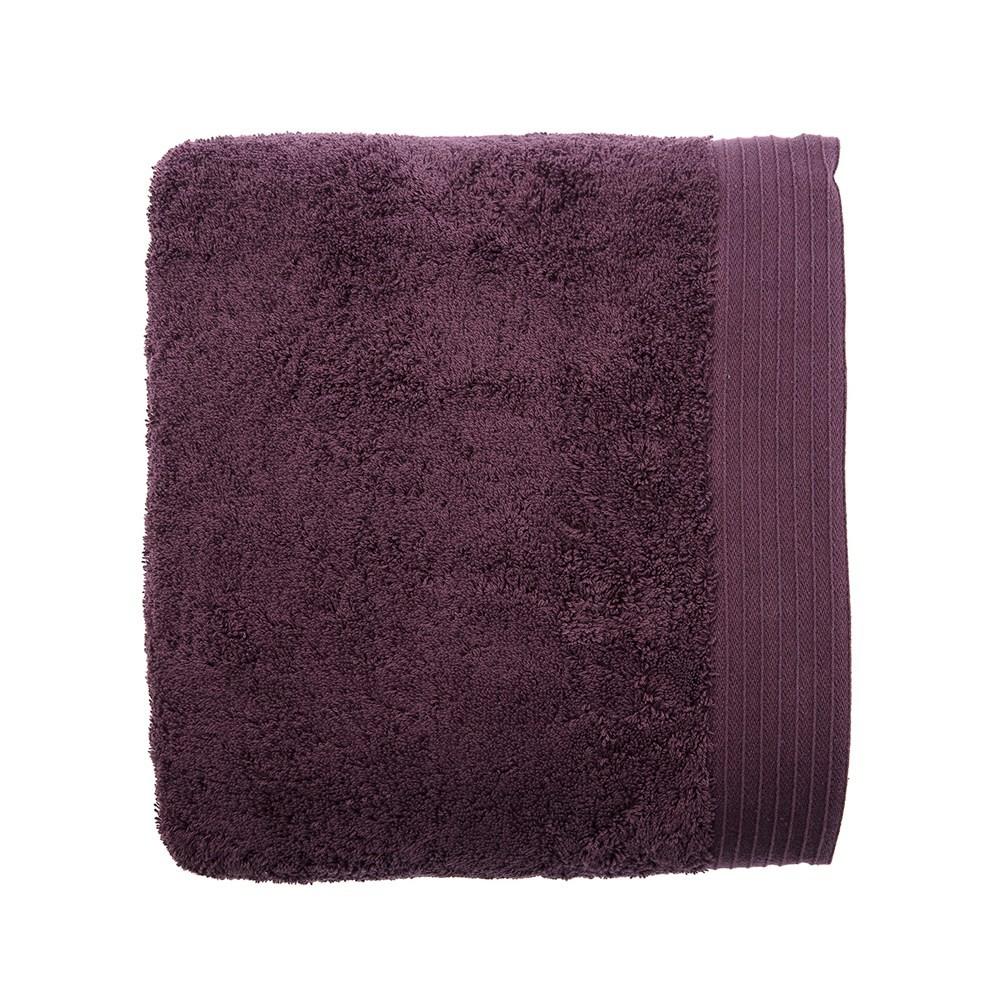 HOLA 埃及棉加大浴巾-深紫 90x150cm