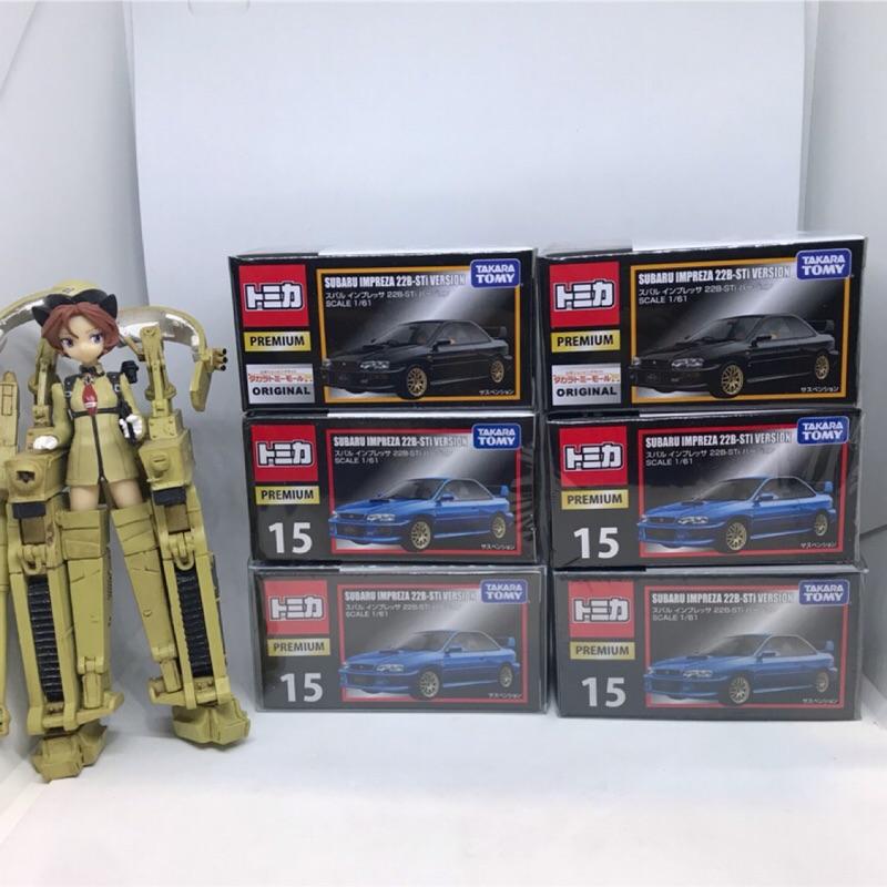 (姆仔fun玩具)多美 Tomica premium no.15 Subaru Impreza 22b 文太 硬皮鯊