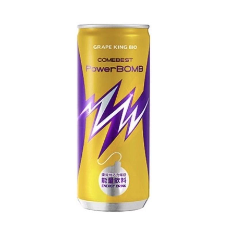 現貨‼️ PowerBOMB活力爆發能量飲料-225ml(四入一組)
