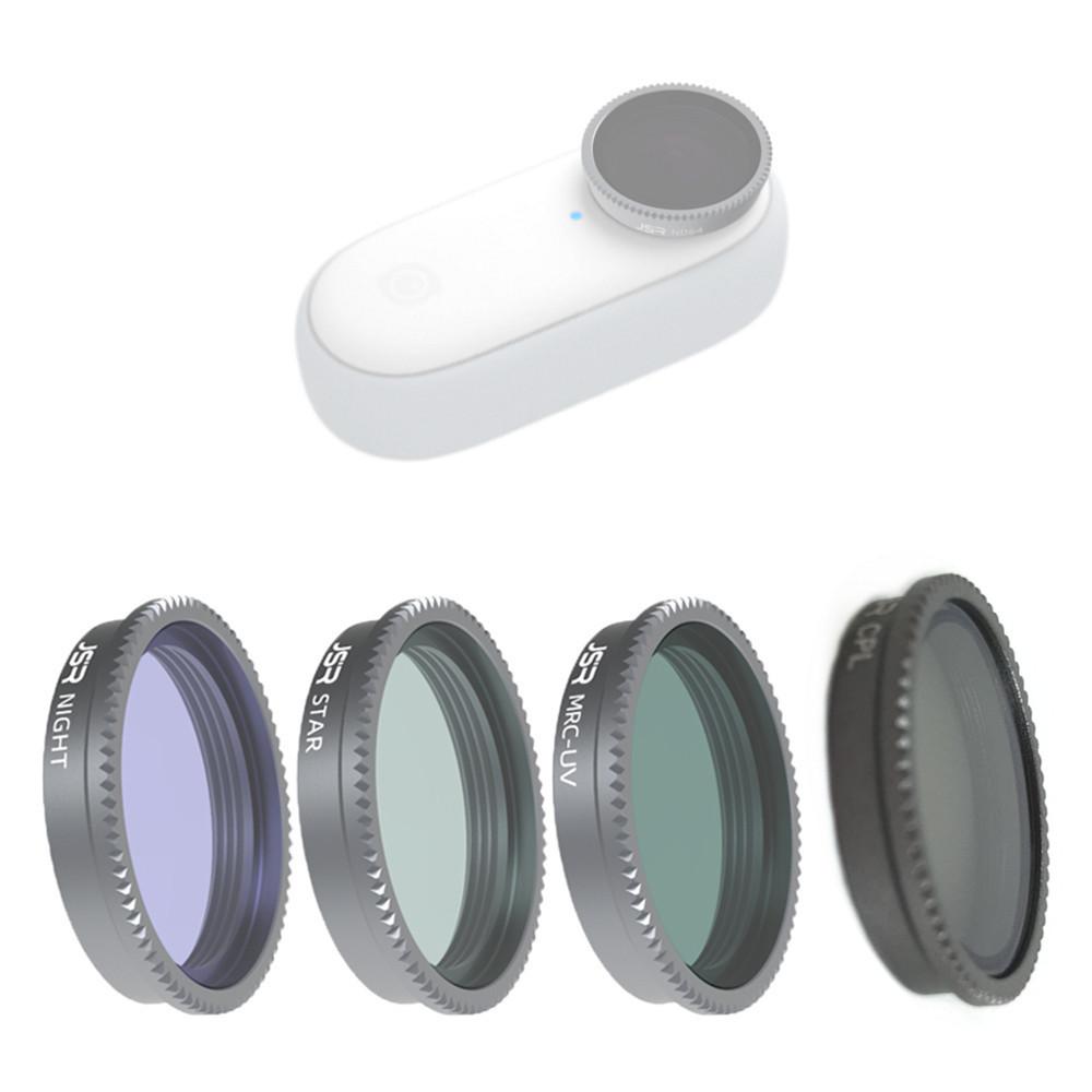 星光 UV CPL 夜景 Night 抗光害 適用 Insta360 GO 2 減光鏡 ND 濾鏡 鏡頭 拇指 運動相機