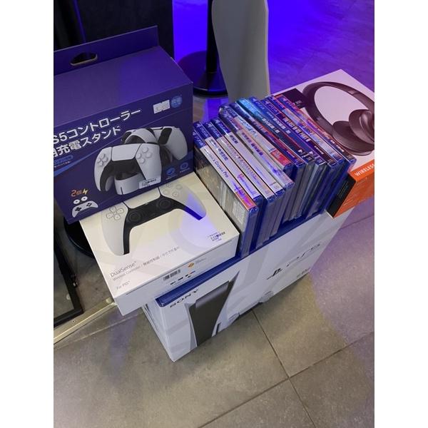 PS5大禮包,含遊戲片
