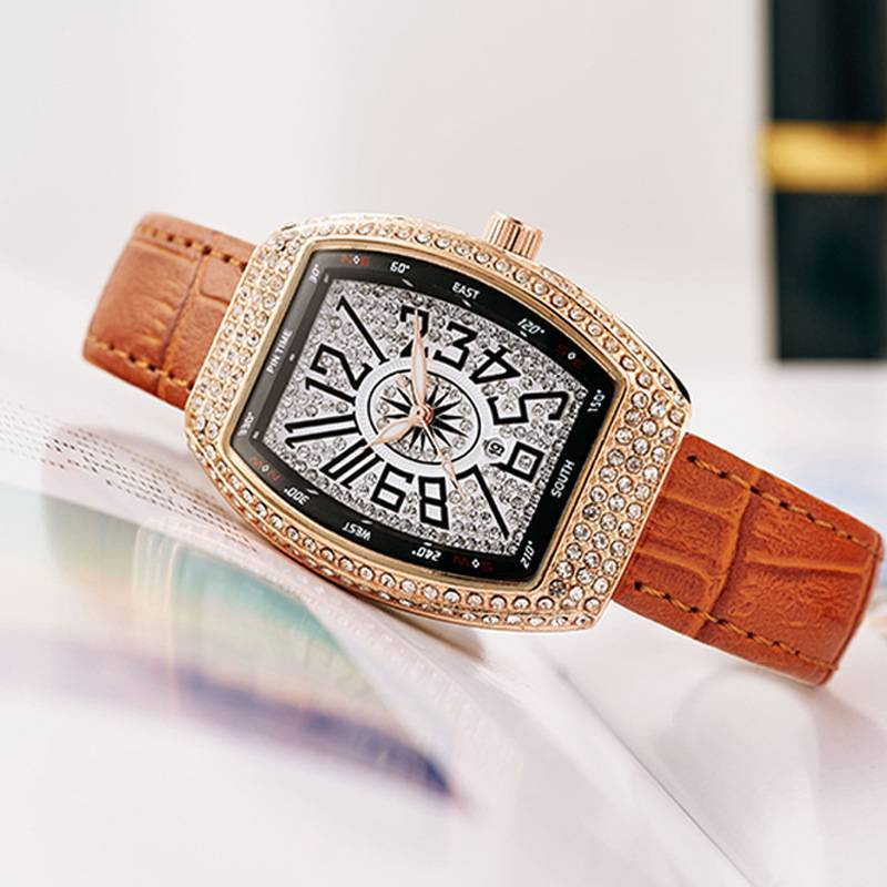 PINTIME新款手錶女法蘭克時尚潮流表