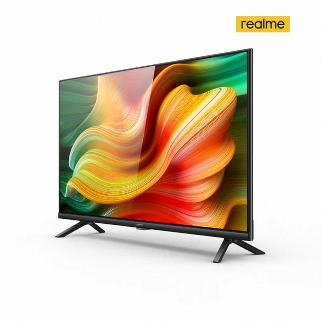 【realme】32吋HD Android TV智慧連網顯示器 (不含安裝) 原廠公司貨