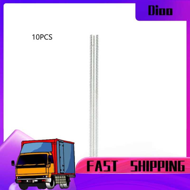 Dioo 10件M8鋁合金M8 * 100mm螺紋桿,用於木工30/45滑動