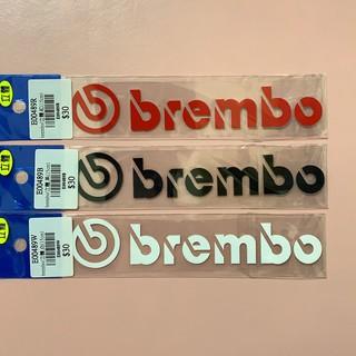 brembo(立體)貼紙 卡鉗 機車 汽車 貼紙 防水貼紙 行李箱貼紙 造型貼紙 彩繪 牢固 高品質 新竹市