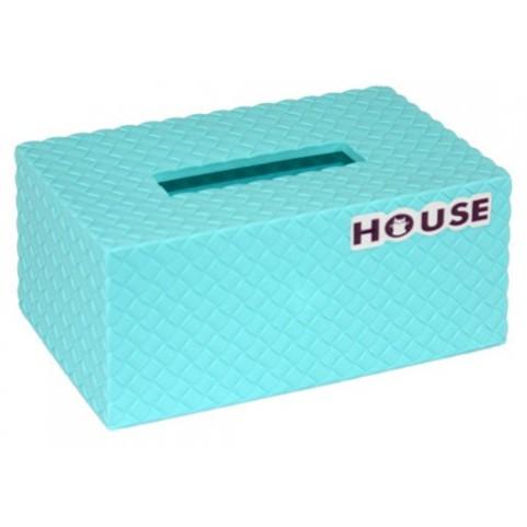 好室喵 繽紛馬卡龍色 編織 面紙盒