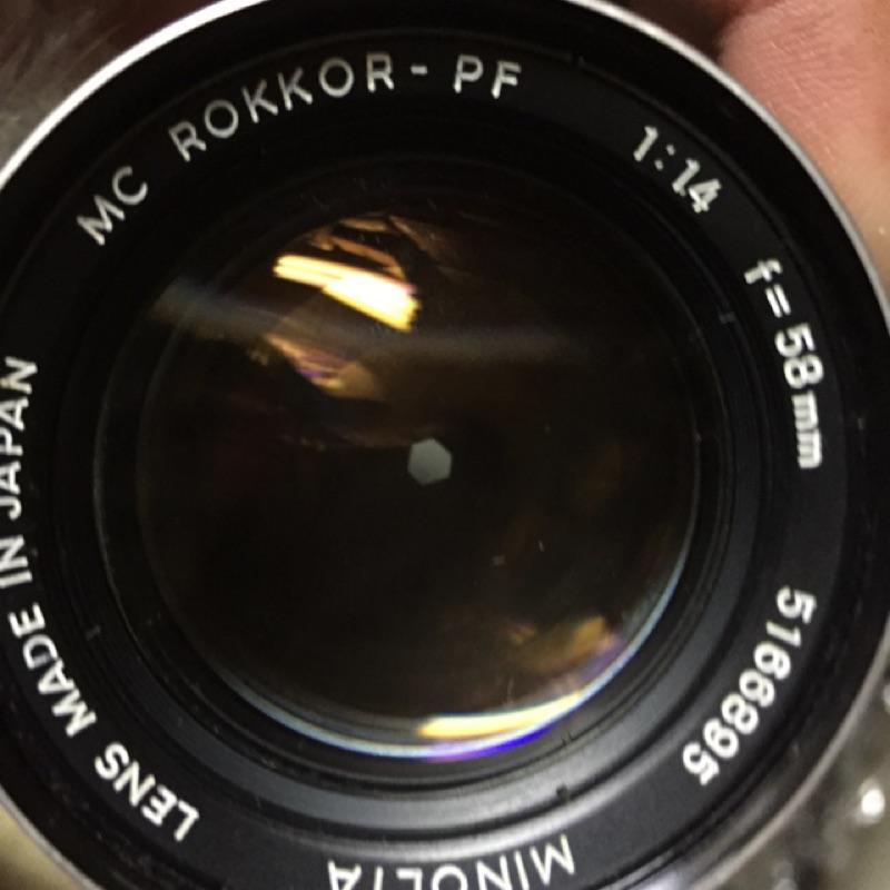 Minolta 58mm f1.4 鏡頭 手動 單眼相機