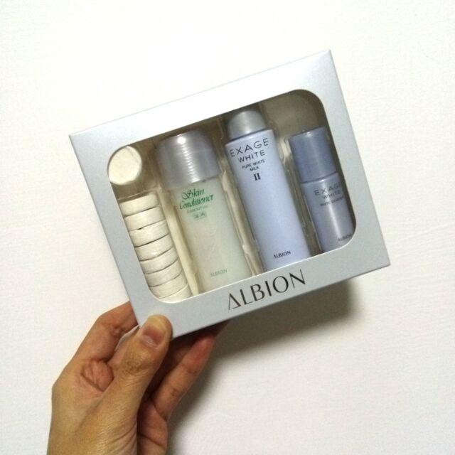 Alibion 艾倫比亞 健康化妝水體驗組