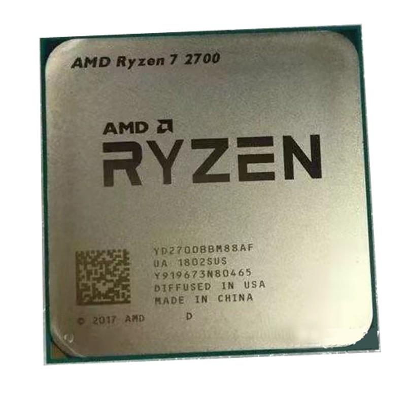 【現貨】r5 2600 r7 2700 r7 2700X AMD Ryzen 5 2600 散片