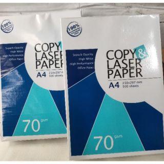 衝評價A4 copy paper 影印、噴墨、雷射、傳真、雙面、彩色影印紙 70磅 1包500張 臺南市