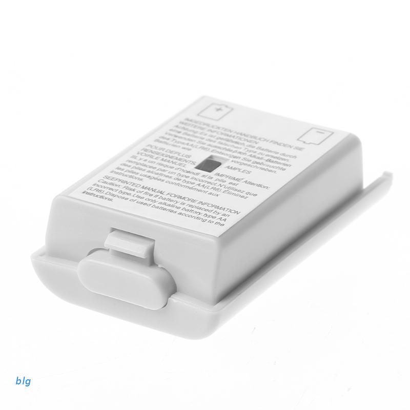 blg btsg 1 件 AA 後蓋外殼外殼白色 Xbox 360 無線控制器