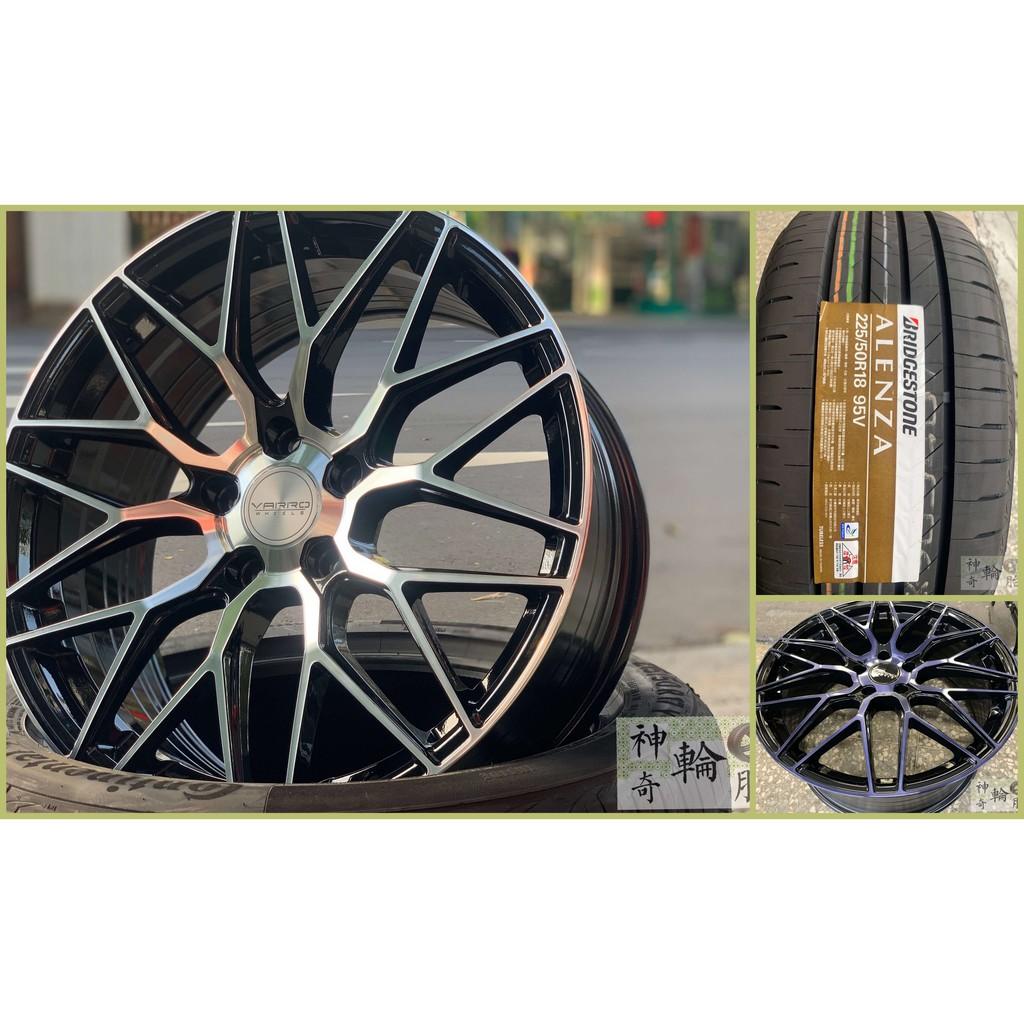 TOYOTA COROLLA CROSS 18吋御用規格 225/50/18 普利司通 ALENZA 鋁圈輪胎升級潮~