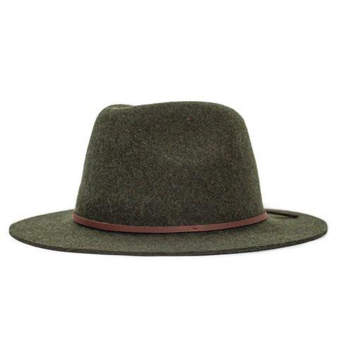 Brixton Wesley Fedora 紳士帽 (墨綠)《Jimi Skate Shop》
