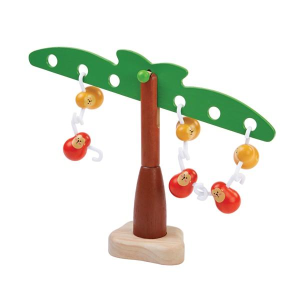 泰國Plantoys 益智玩具-俏皮猴平衡樹