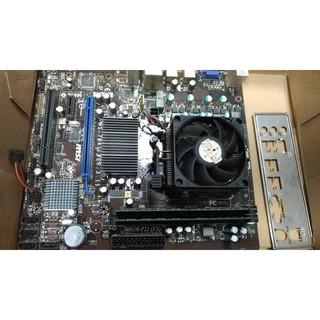 MSI 760GM-P21(FX)主機板+x2-250cpu+d3/ 2g*2 新北市