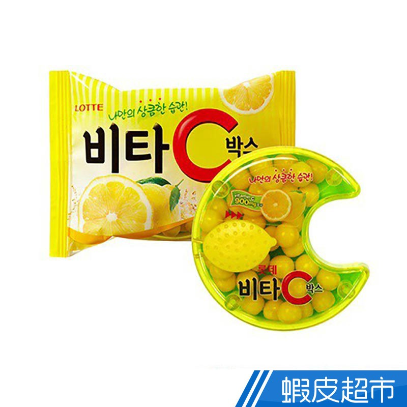 LOTTE樂天 Vita C檸檬糖17.5g 現貨  蝦皮直送