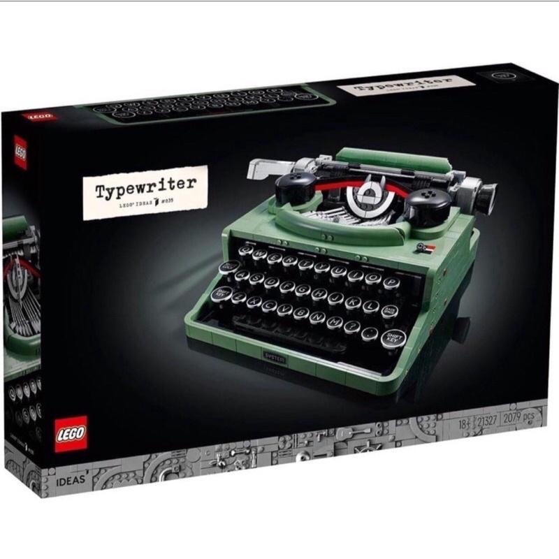 Lego樂高 21327 IDEAS 打字機 Typewrite 全新未拆  正版樂高