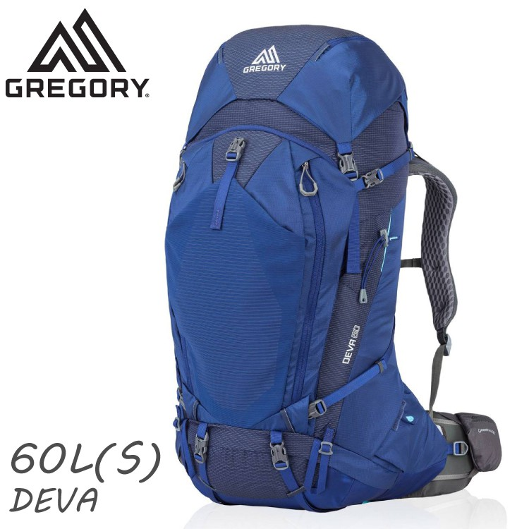 GREGORY 美國 女 DEVA 60 S 登山背包《夜景藍》60L/91622/雙肩背包/後背包/自助旅行