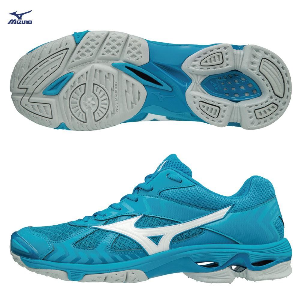 =好了啦要運動=MIZUNO美津濃 WAVE BOLT 7 V1GA186098 女款 排羽球鞋 水藍