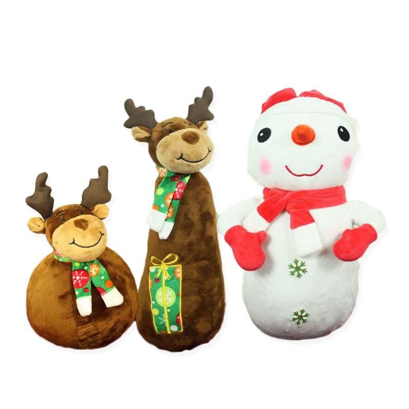 聖誕節 絨毛娃娃 公仔 娃娃 玩偶 聖誕禮物 聖誕 交換禮物 麋鹿 禮物 BANG【HL04】