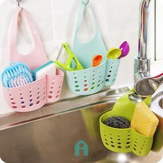 Act   創意可調節按扣式水槽收納掛籃廚房置物架水龍頭海綿瀝水架