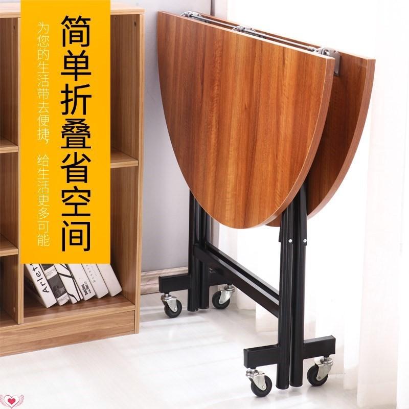 實木餐桌圓桌伸縮折疊6小戶型8人10橡木12圓形4飯臺1.5米1.2M園2