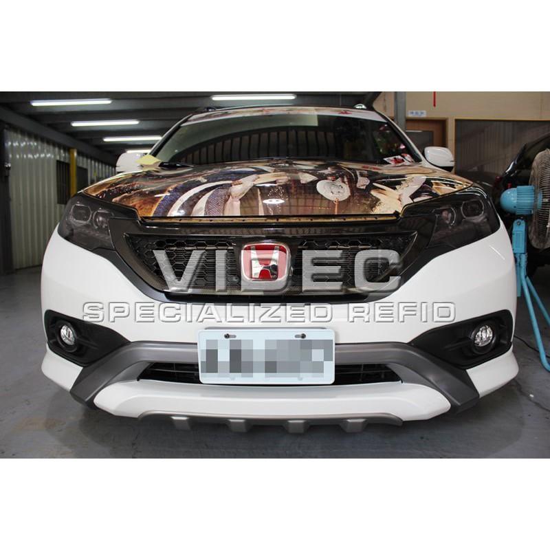 巨城汽車 HID CRV 4代 四代 4.5代 歐規式樣 RF-Design 大包 保桿 空力套件 材質 ABS