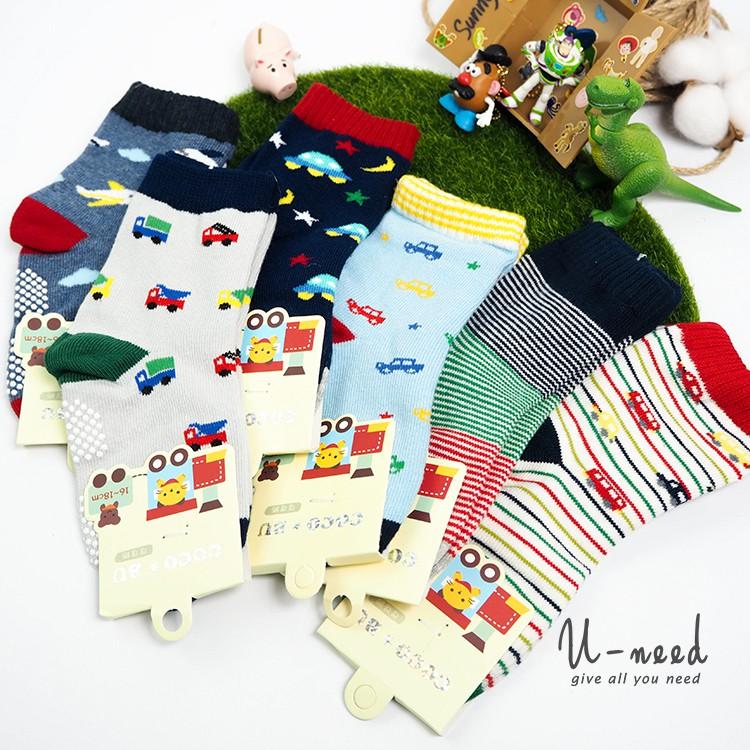 兒童短襪 16-18CM 兒童造型襪 純棉襪 襪子 男童 女童 童襪【101104】Uneed
