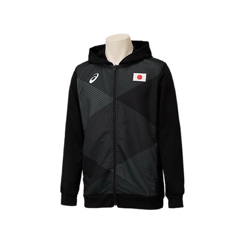 代購東京奧運Asics亞瑟士製日本隊長袖外套
