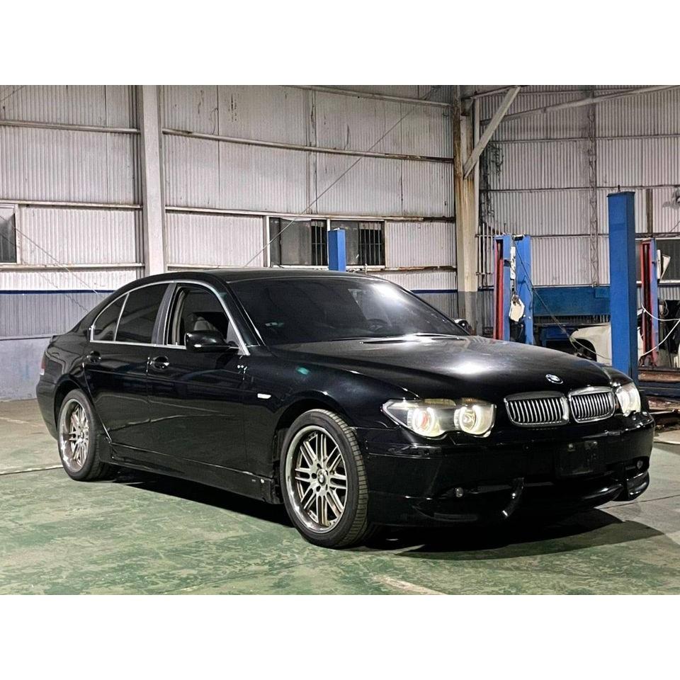 新入庫 只要9.8萬 2002年 BMW E65 735I 黑 豪華配備