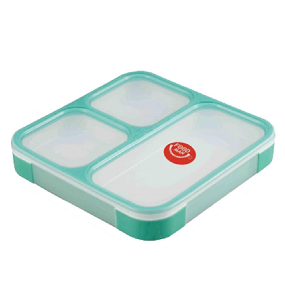 CB Japan 巴黎系列纖細餐盒800ml-湖水綠 便當盒