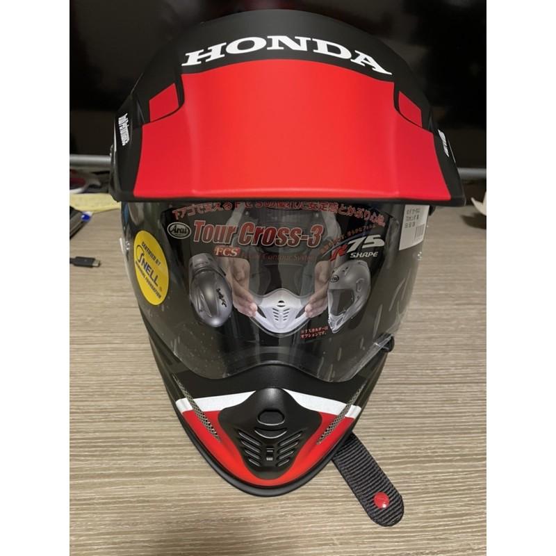 日本限定 Arai X Honda TOUR CROSS 3 CRF150 CRF250 XR250 越野 山車 滑胎