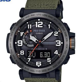 卡西歐男錶戶外防水太陽能電波錶PRW-6600登山錶官網正品男士手錶 高雄市
