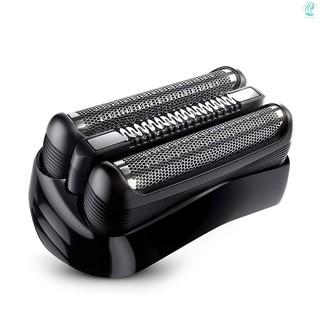 21B 適用於博朗剃須刀頭BRAUN剃須刀更換部件黑色適用於300S和310S型號