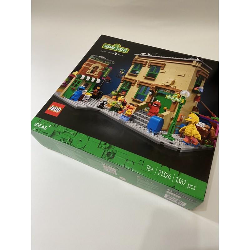 現貨樂高LEGO 芝麻街 21324