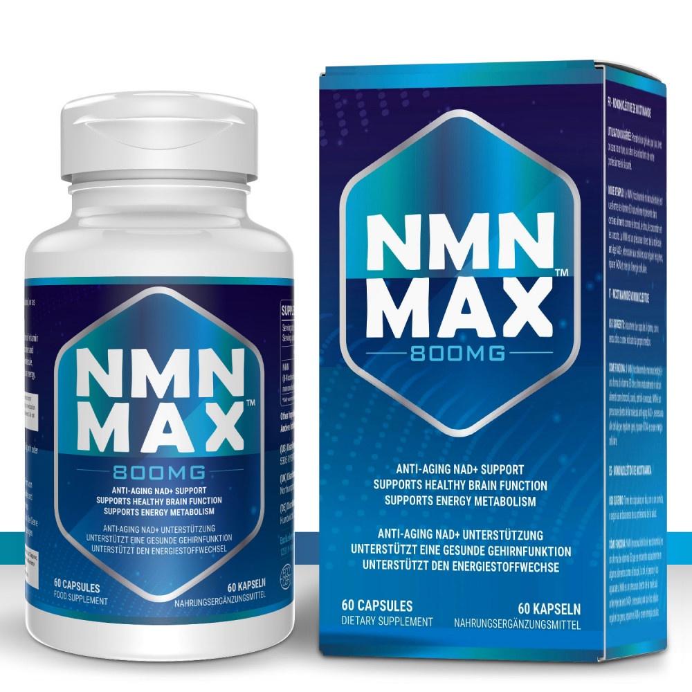 煥發青春NMN MAX 800mg 買NMN送白藜蘆醇|純度高品質好|買一送一  美國代購