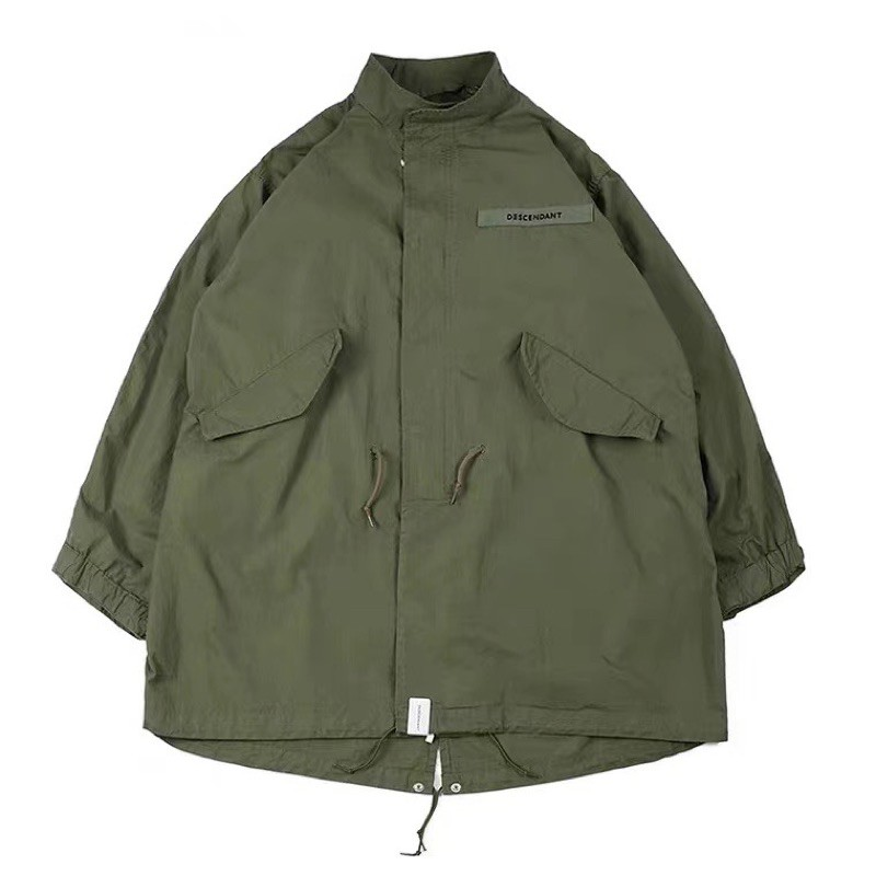 Descendant D51 大衣 長版 外套