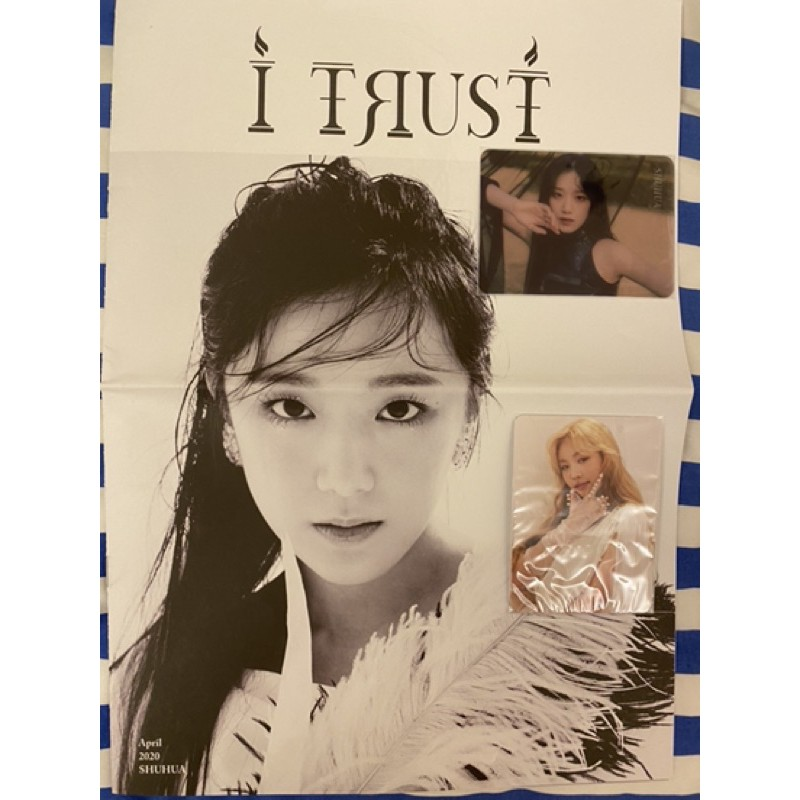 (G)I-DLE 迷三小卡 透卡 小寫真