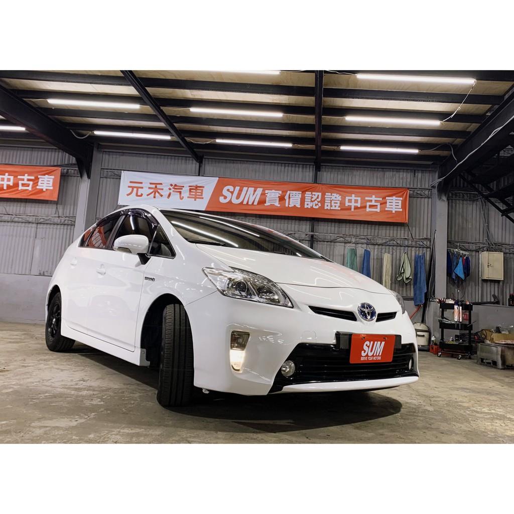 2013年 Toyota Prius 1.8 極光白 非自售 代步車 實車實價