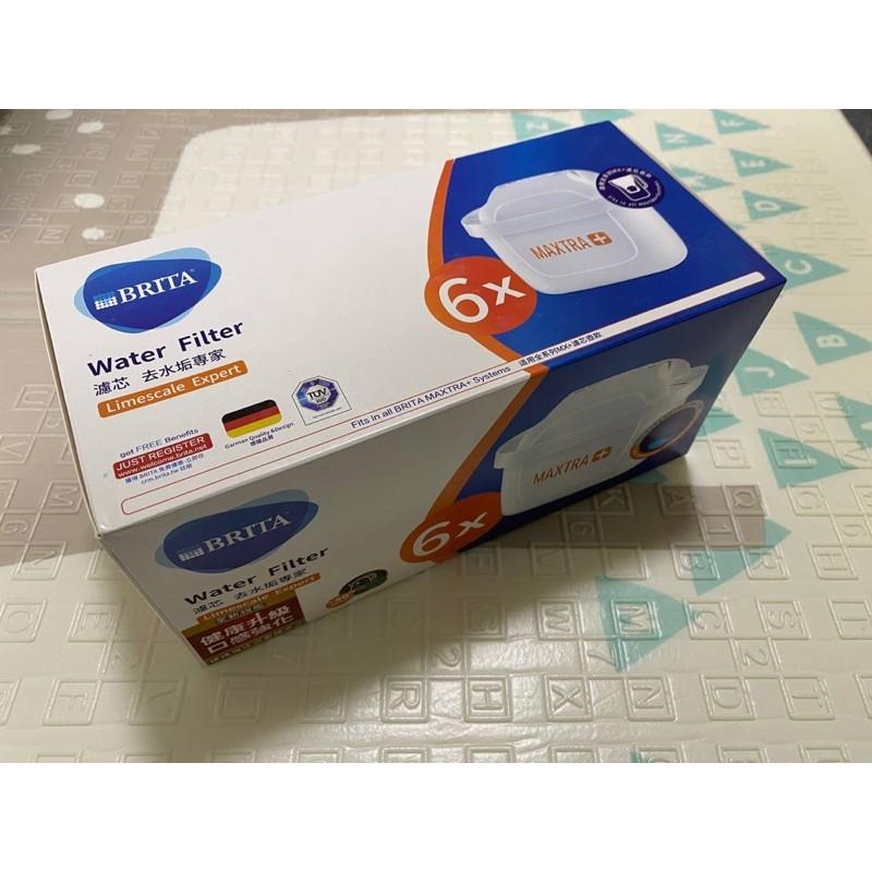 原裝德國進口Costco台灣公司貨 Brita Maxtra+ 濾芯 最新Brita去水垢專家版 一盒6入