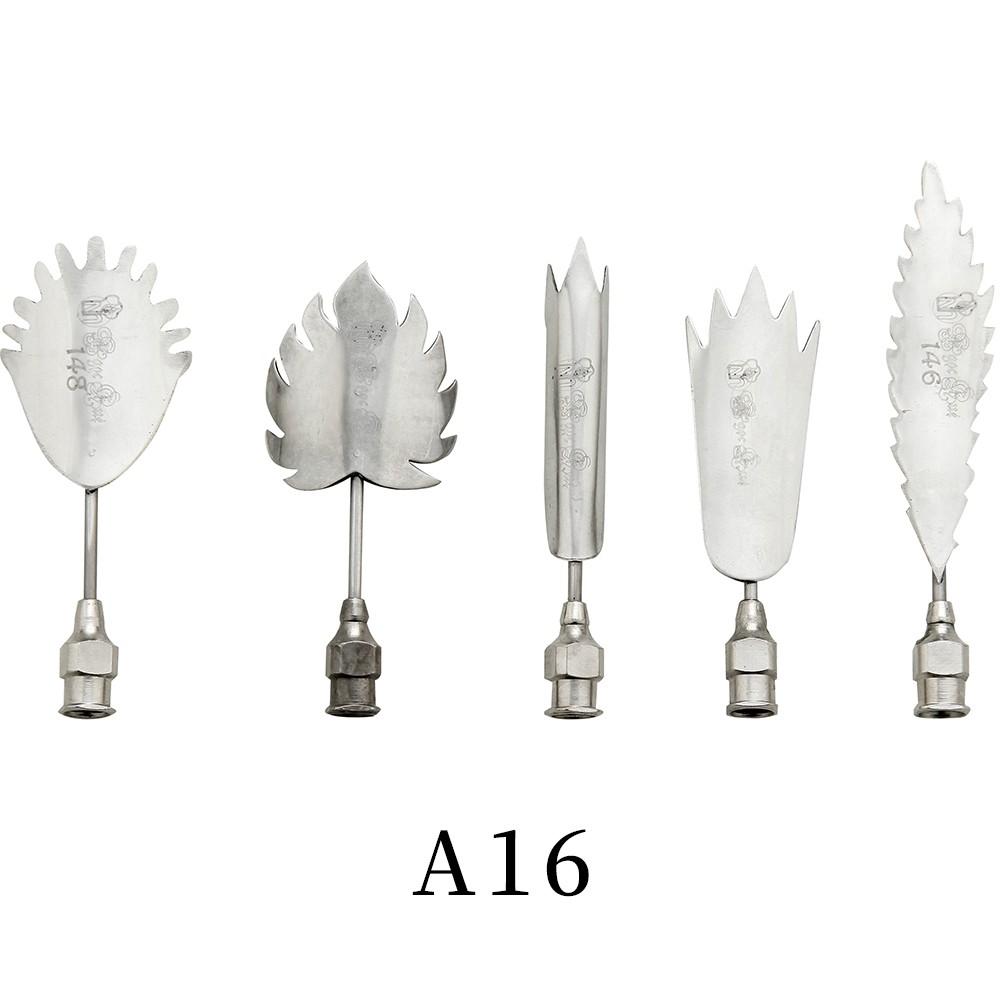 優果《越南進口不鏽鋼果凍花針A16》每組內含5支針