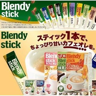 森吉小舖 免運 日本 AGF 歐蕾系列 Blendy stick 冰牛奶沖泡歐蕾 抹茶/ 黑咖啡/ 紅茶歐蕾 即溶咖啡 台南市
